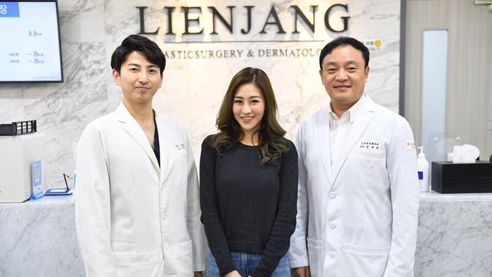 """สวยแบบเกาหลีได้ ไม่ต้องไปถึงโซล เปิดตัวโรงพยาบาลศัลยกรรมสัญชาติเกาหลี """"LIENJANG"""" สยามสแควร์ ซอย 5"""