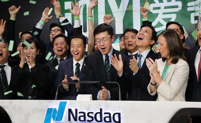 อกหักอย่างแรง!iQiyi บริษัทสตรีมมิ่งจีน IPO เข้าวอลล์สตรีท แต่ปิดตลาดไม่สวย
