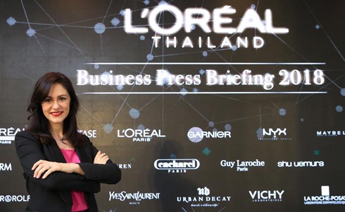 ตลาดบิวตี้โต 7.8%'ลอรีอัล' ภูมิใจโตกว่าตลาดเป็นปีที่ 6 อย่างต่อเนื่องปีนี้พร้อมลอนช์ 2 แบรนด์ใหม่ในไทย