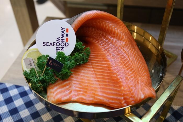 ปลาแซลมอนจากนอร์เวย์