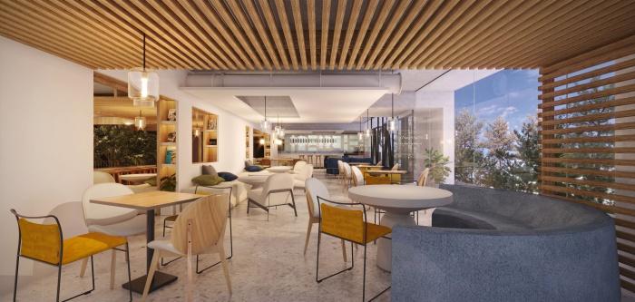 ASAI Hotel ให้ความสำคัญกับที่พื้นที่ส่วนกลางขนาดใหญ่ แขกผู้เข้าพักสามารถมีมุมพักผ่อน พูดคุย เล่นเกมและทำงานได้เต็มที่