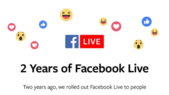 เปิดสถิติที่น่าสนใจของ Facebook Live ในโอกาสครบรอบ 2 ปี