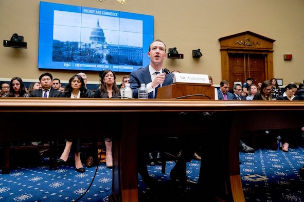 Mark Zuckerberg Testified