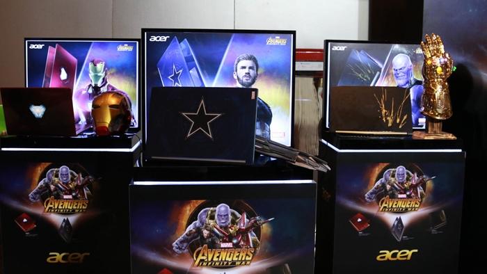 มาไทยแล้ว 'Acer Avengers: Infinity War' รุ่นลิมิเต็ด อิดิชั่น ที่มีขายเฉพาะในเอเชียแปซิฟิก และมีเพียง 3,500 เครื่องเท่านั้น