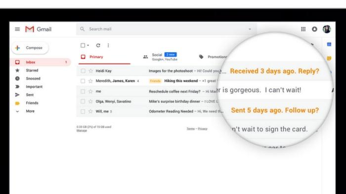 ถึงเวลาอัพเดท Gmail กูเกิลคลอดเวอร์ชันใหม่ เติมลูกเล่นเจ๋งๆ พร้อมเสริมความปลอดภัยอีเมล