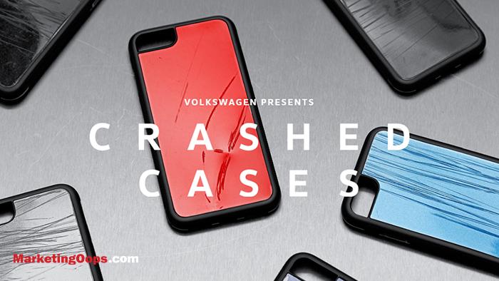 Volkswagen ผลิตเคสโทรศัพท์มือถือรุ่น limited ทำจากชิ้นส่วนจริงของรถยนต์ที่ประสบอุบัติเหตุ
