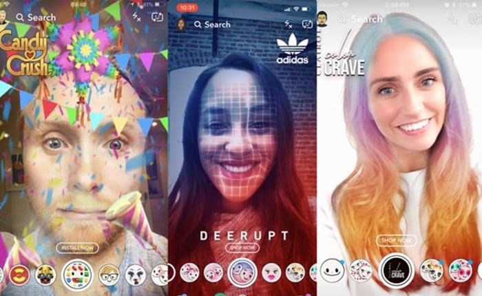 ถึงเวลา Selfie Commerce เมื่อ Snapchat เพิ่มช่องทางโฆษณาผ่านการเซลฟี่แบบ AR