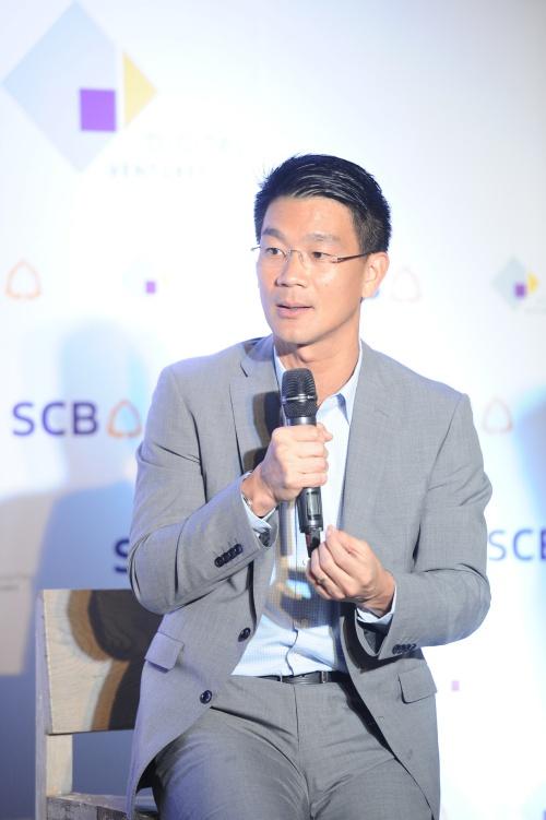 ดร. อารักษ์ สุธีวงศ์ รองผู้จัดการใหญ่อาวุโส Chief Financial Officer and Chief Strategy Officer ธนาคารไทยพาณิชย์ (2)
