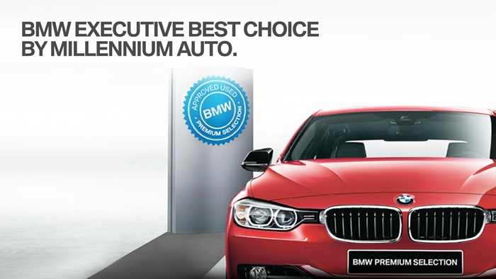มิลเลนเนียม ออโต้ จัดแคมเปญพิเศษ BMW Executive Best Choice By Millennium Auto