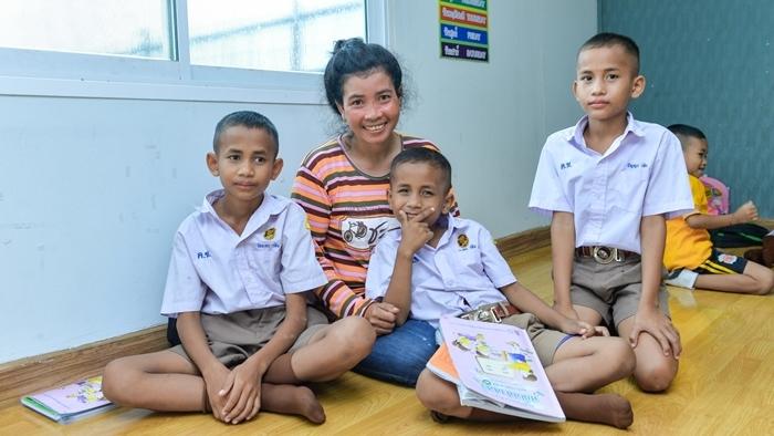 """อารียา พรอพเพอร์ตี้ นำร่อง """"ศูนย์การเรียนรู้สำหรับเด็กและเยาวชนในสถานที่ก่อสร้าง"""""""