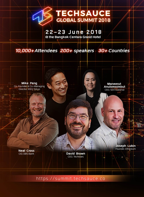 Poster_Techsauce Global Summit 2018