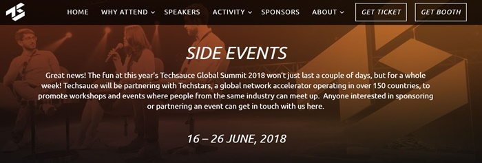 Techsauce Global Summit - Side Events