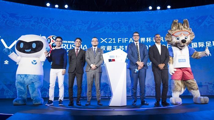 "Vivo เปิดตัวแคมเปญ 2018 FIFA WORLD CUP RUSSIA™ ""MY TIME, MY FIFA WORLD CUP"""