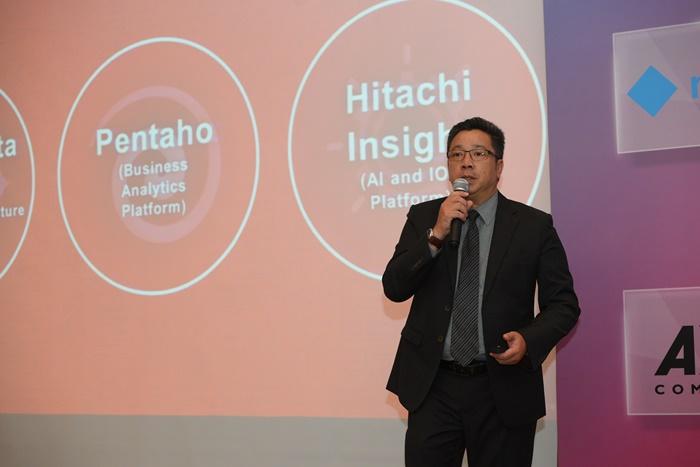 นายธนาวุฒิ จ่างตระกูล Head of Sales ประจำประเทศไทย บริษัท ฮิตาชิ แวนทารา(2)