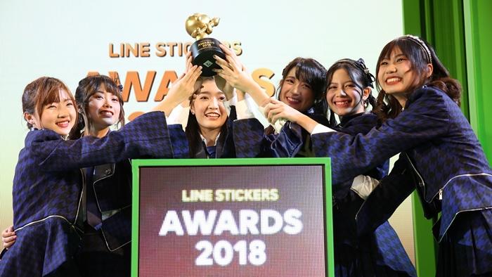 ประกาศแล้ว LINE STICKERS AWARDS 2018 งานนี้สติกเกอร์ บุพเพฯ – BNK48 ก็ได้ด้วย
