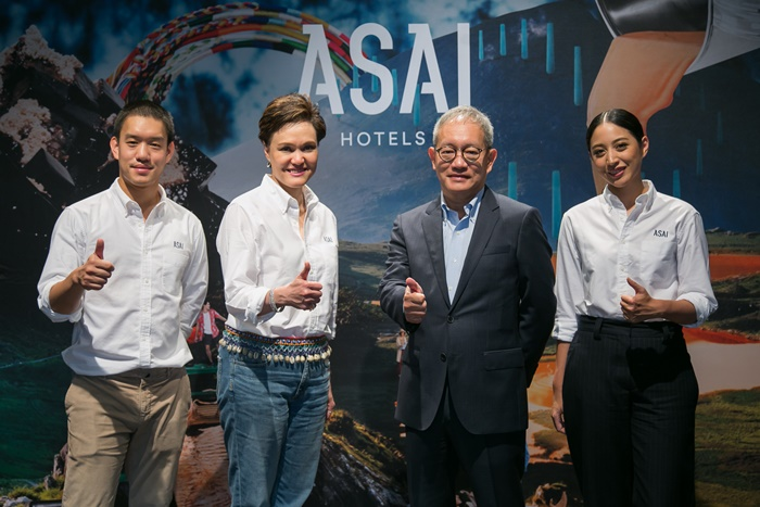 ASAI Hotels was launched by Dusit's executives on 3 April 2018. (2)