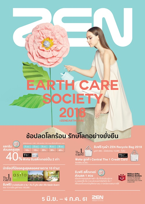 Earth Care Day  Poster 49x69