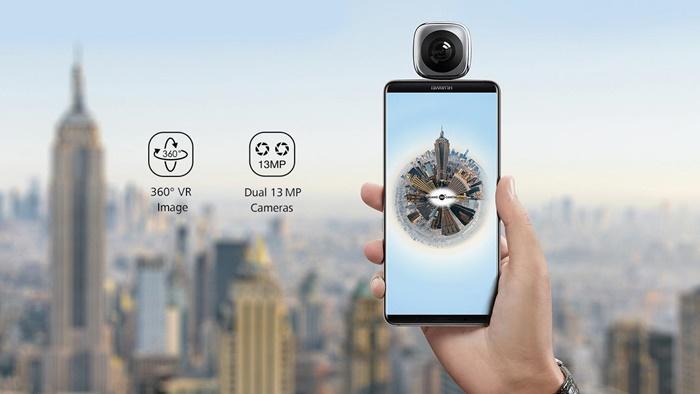 HUAWEI EnVizion 360 VR Camera กล้อง 360 องศาสำหรับสมาร์ทโฟน พกพาง่าย แชร์ภาพได้ทันที