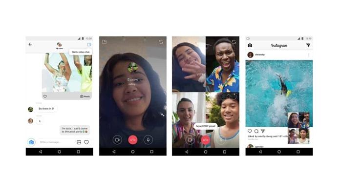 อัปเดทรายวัน Instagram เพิ่มฟีเจอร์ Video Chat แล้ว