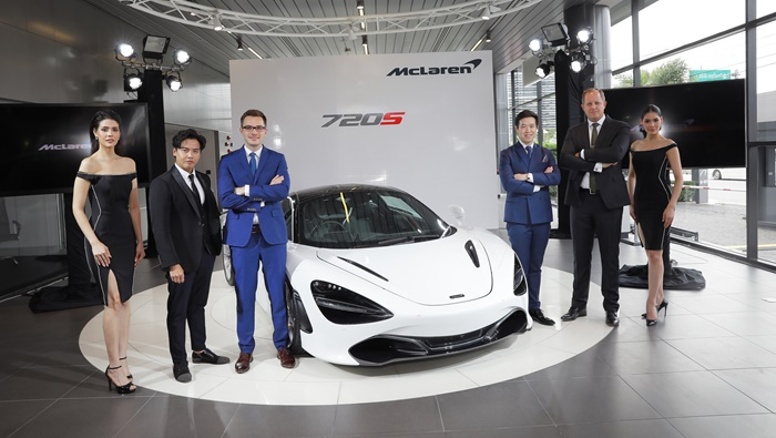 """The New McLaren 720S Raises Limits "" สุดยอดซูเปอร์คาร์ สัญชาติอังกฤษ ยกระดับยนตรกรรมในประเทศไทย"