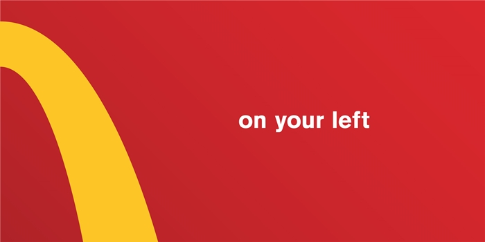 ON YOUR LEFT