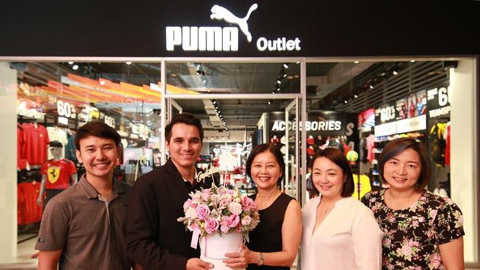 พูม่า เปิดแฟล็กชิพ เอาท์เล็ท สโตร์ แห่งแรกในประเทศไทยที่ศูนย์การค้าโชว์ ดีซี