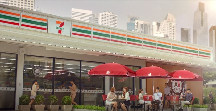 Resize All Cafe (Cr.7-Eleven Thailand YouTube)