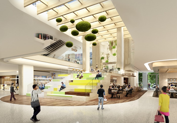Resize The PARQ_Retail Interior