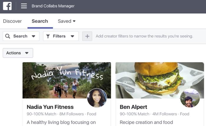ซะที Facebook เปิดตัว 'Brand Collabs Manager' แพล็ทฟอร์มเพื่อการเชื่อมโยงแบรนด์และ Influencer