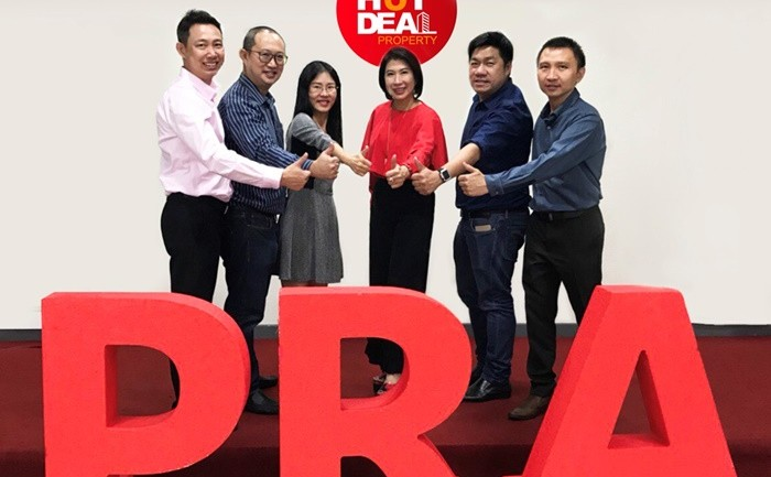 พีอาร์เอ อะคาเดมีแตกไลน์ธุรกิจใหม่ 'Hot Deal บริหารการขายปิดโครงการ'