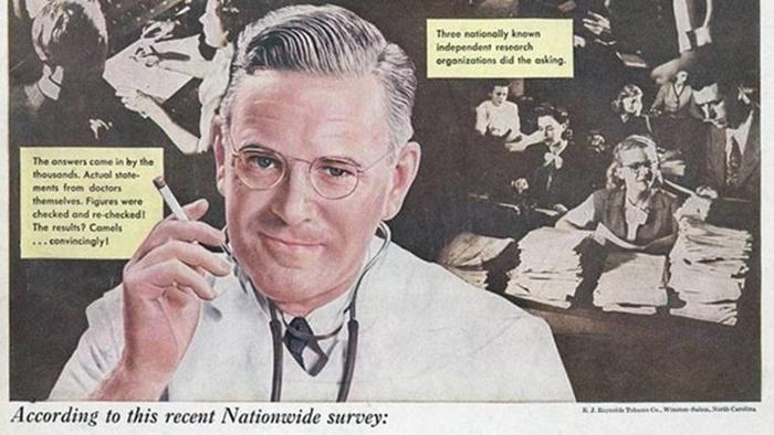 ชมโฆษณาชวนเชื่อในอดีต! บุหรี่คือยาอายุวัฒนะ มีหมอเป็นพรีเซ็นเตอร์