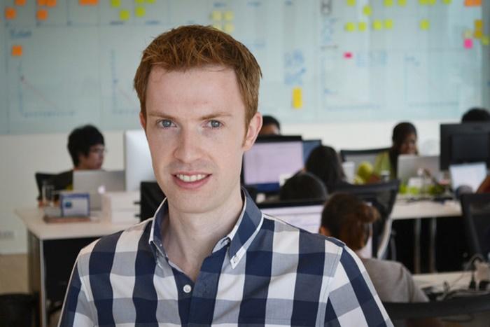 มิสเตอร์โรเบิร์ต แกลลาเกอร์ ผู้ก่อตั้งและกรรมการผู้จัดการบริษัทแอ๊พซินท์