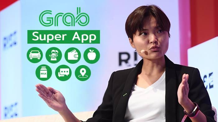 Grab ขอเป็นมากกว่า Grab Taxi เตรียมพร้อมเข้าสู่การเป็น Super App ให้บริการทุกอย่างที่ต้องการ ทั้งชำระเงิน ส่งอาหาร และอาหารสด อาหารแห้งออนไลน์