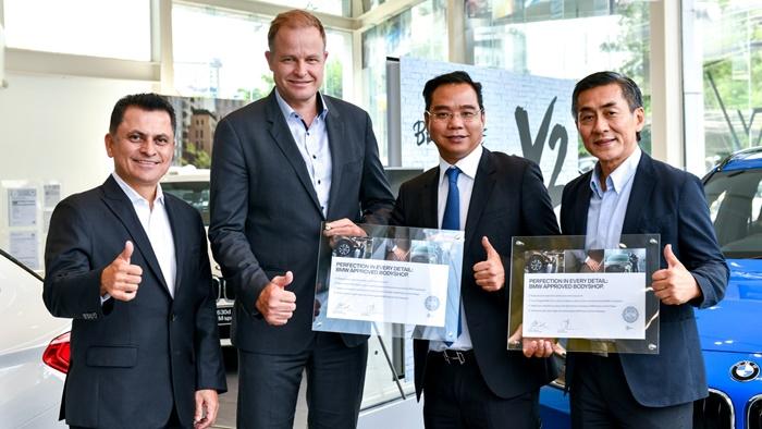 มิลเลนเนียม ออโต้ การันตีคุณภาพศูนย์บริการซ่อมสีและตัวถัง ด้วยประกาศนียบัตรจากบีเอ็มดับเบิลยู กรุ๊ป ประเทศไทย