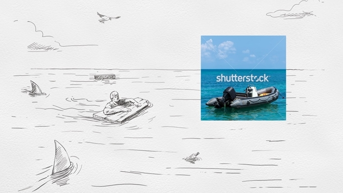 Shutterstock ทำแคมเปญ Print-Ad น่ารัก สะท้อนบทบาทของการเป็น 'ผู้ช่วยชีวิต' ในการทำงาน Creative
