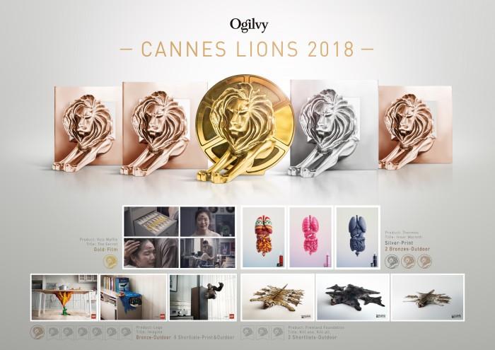 OgilvyCannes lions 2018new