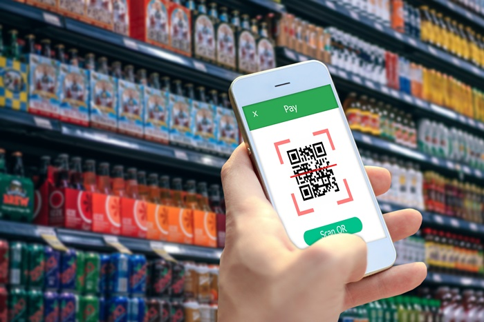 Resize QR Code Payment