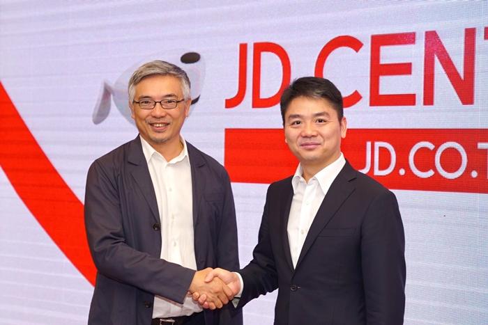 ทศ จิราธิวัฒน์ ,ริชาร์ด หลิว ประธานกรรมการบริหาร และประธานเจ้าหน้าที่บริหาร บริษัท JD.com