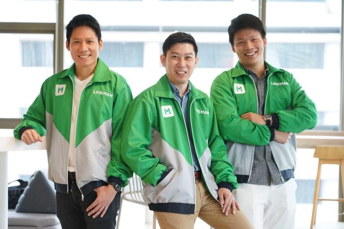 3 ผู้บริหาร LINE MAN