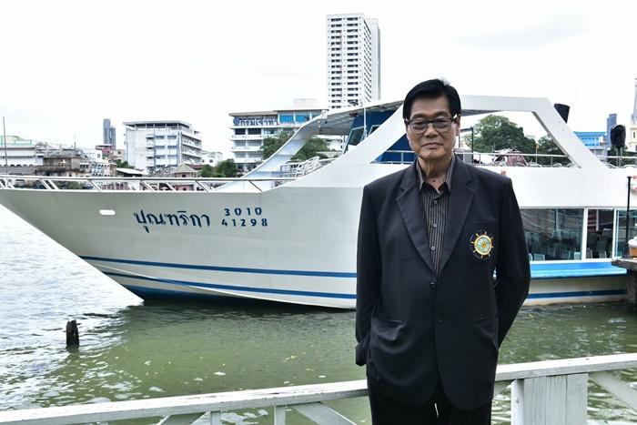 2 - คุณมนูญ พุฒทอง นายกสมาคมเรือไทย