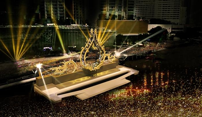 3.มหาปรากฏการณ์งานเปิดเมืองไอคอนสยาม' ซึ่งจะเกิดขึ้นบริเวณ River Park