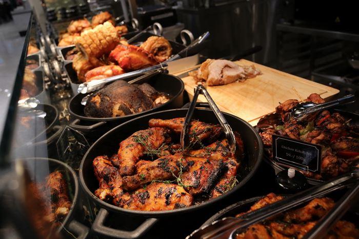 Central Food Hall Food at Deli Bar