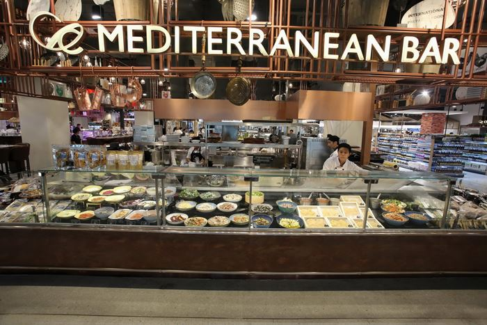Central Food Hall Mediterranean Bar