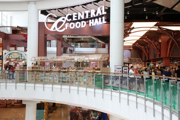 New look Central Food Hall at Central World