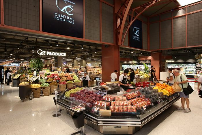 Central Food Hall Produce Zone