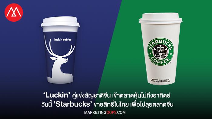 Luckin coffee vs. Starbucks