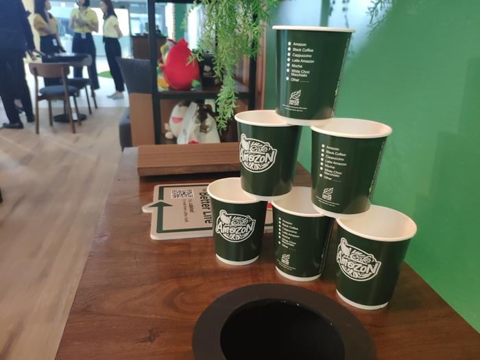 Cafe Amazon Circular Living