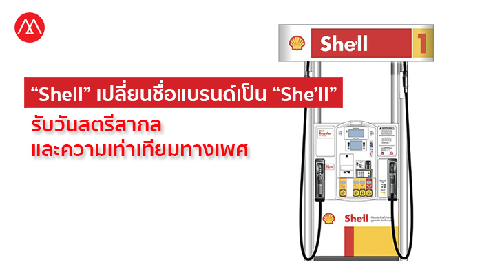 Shell-She'll-Campaign for International Women's Day