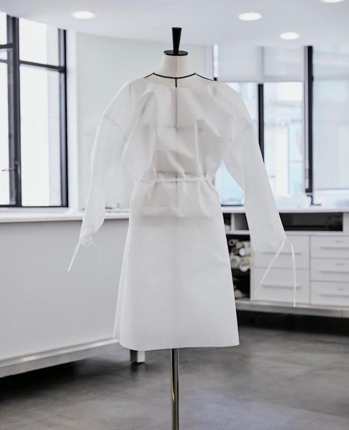 Louis-Vuitton Hospital Gowns