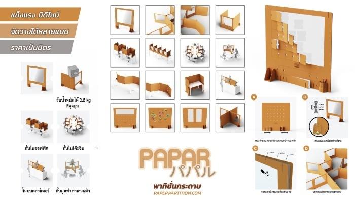 PAPAR Paper Partition
